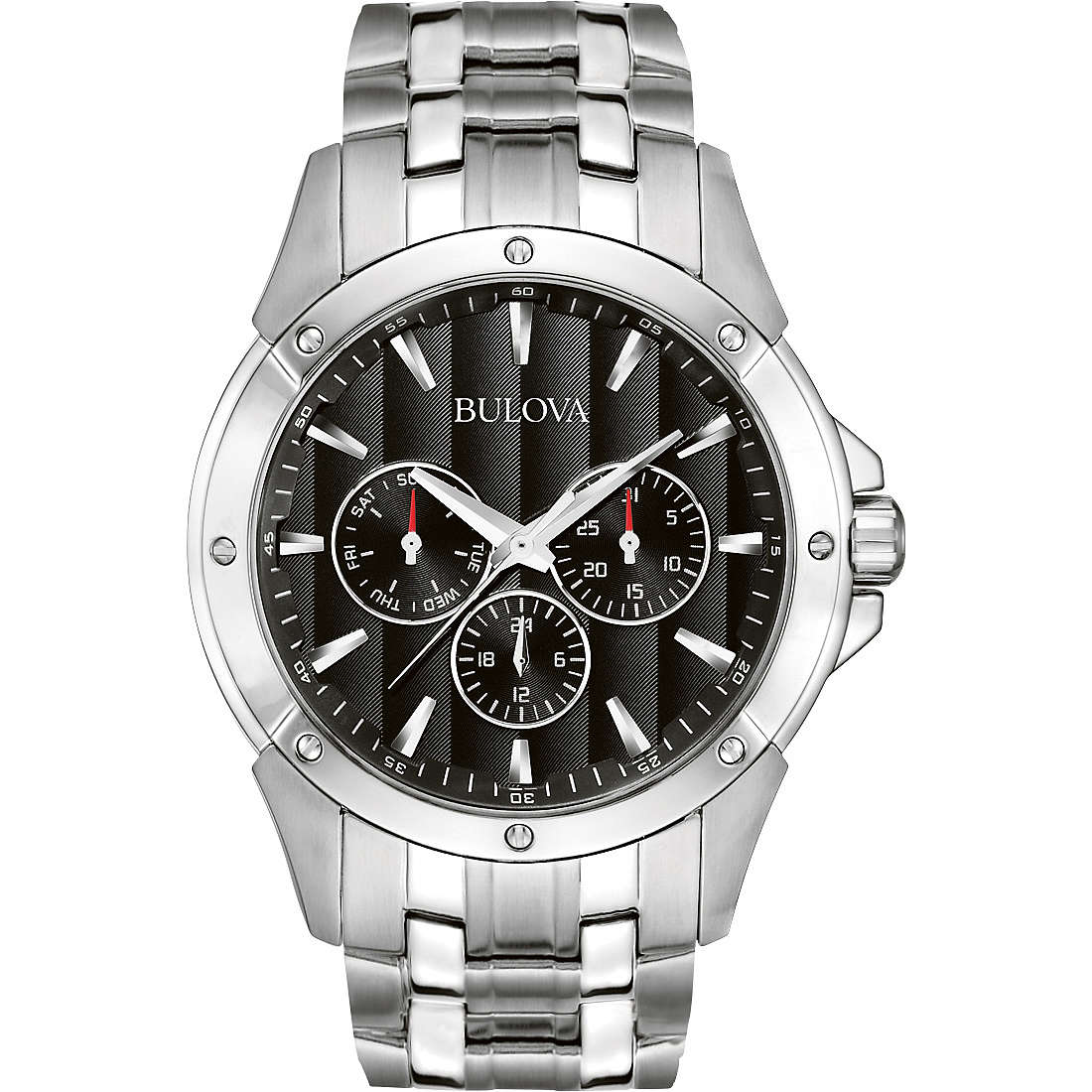 watch multifunction man Bulova Dress 96C107