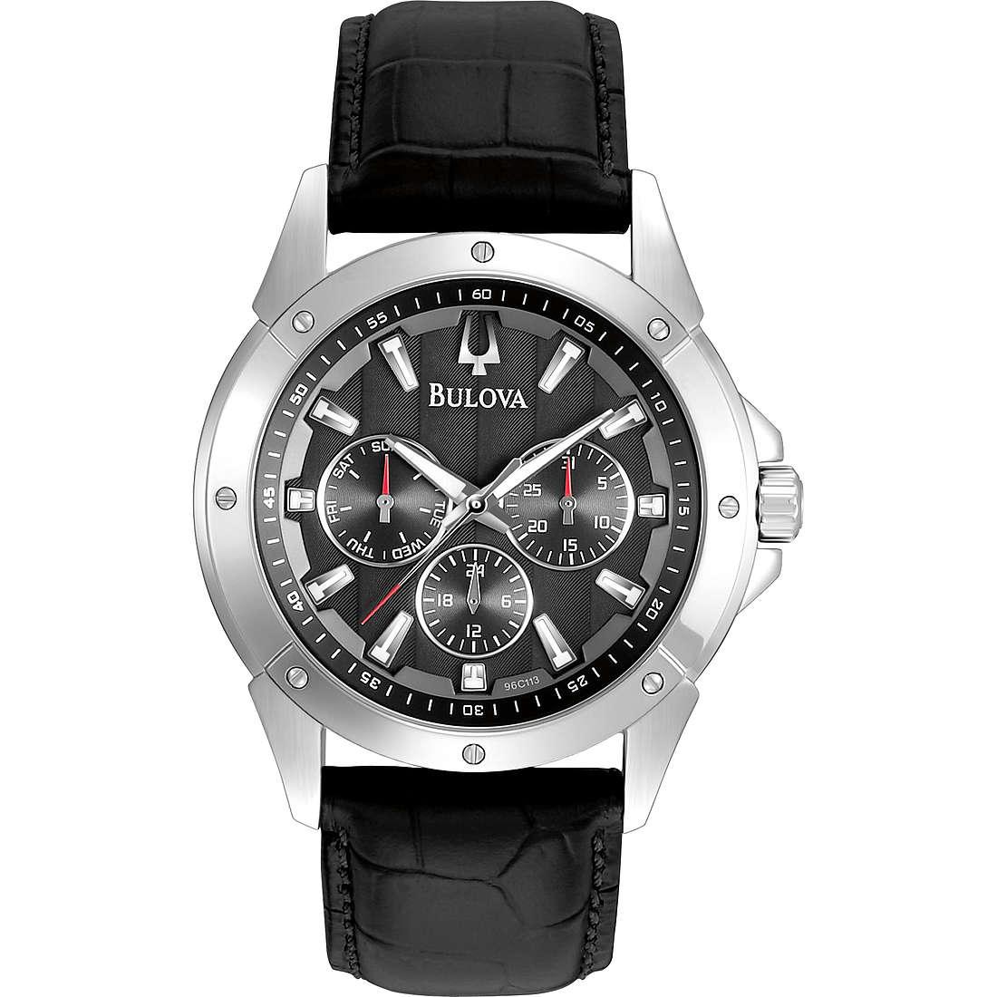 watch multifunction man Bulova Dress 96C113
