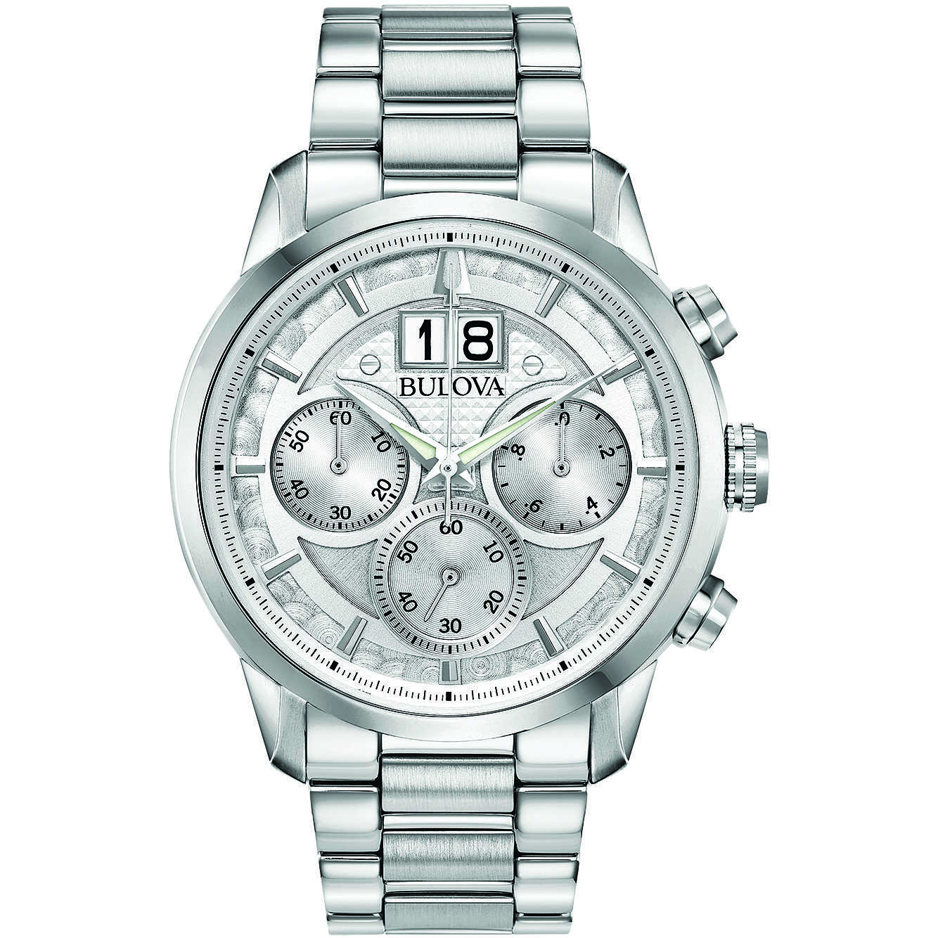 6417e304a watch multifunction man Bulova Sutton 96B318 multifunction Bulova