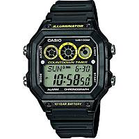 watch multifunction man Casio CASIO COLLECTION AE-1300WH-1AVEF