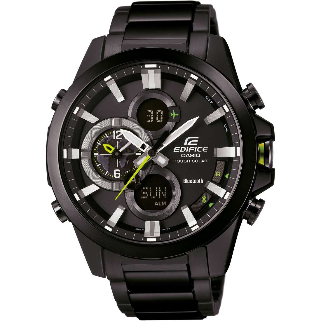 watch multifunction man Casio EDIFICE ECB-500DC-1AER