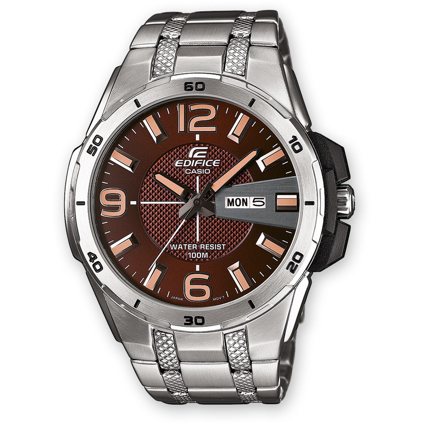 watch multifunction man Casio EDIFICE EFR-104D-5AVUEF