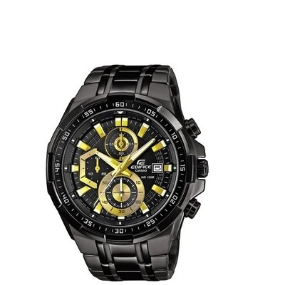 watch multifunction man Casio EDIFICE EFR-539BK-1AVUEF