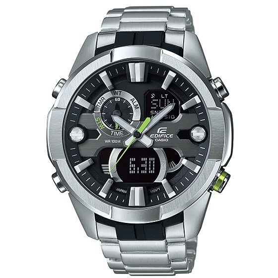 watch multifunction man Casio EDIFICE ERA-201D-1AVEF