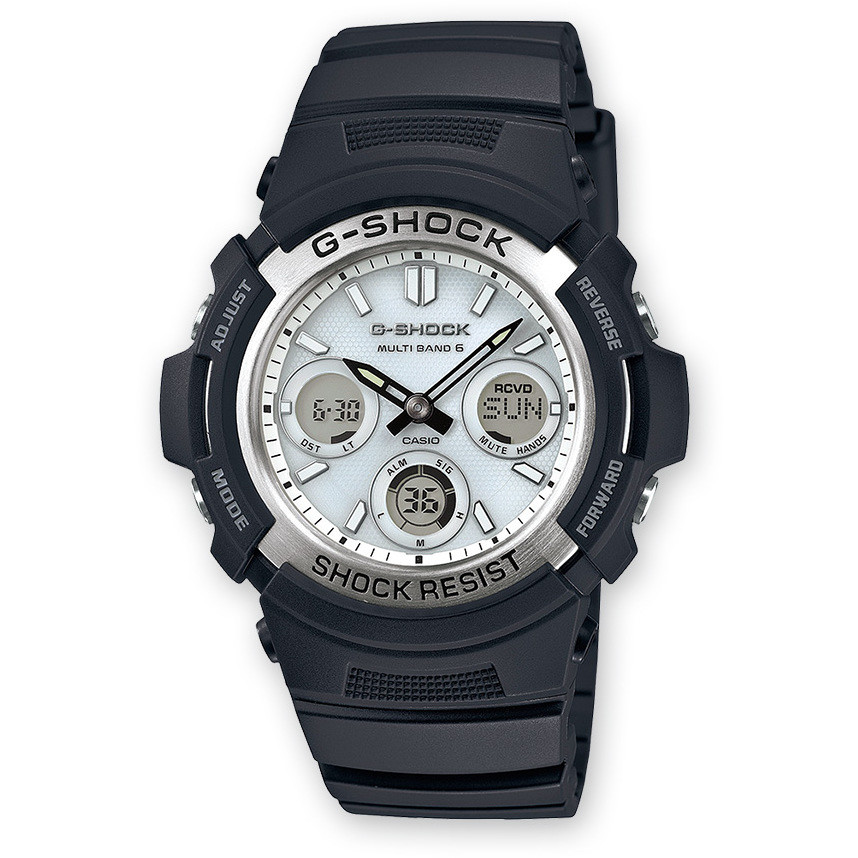 watch multifunction man Casio G-Shock AWG-M100S-7AER