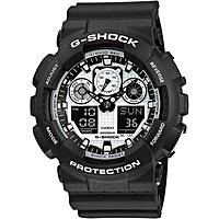 watch multifunction man Casio G-Shock GA-100BW-1AER