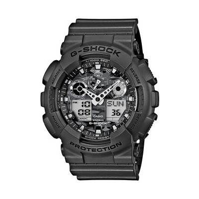 watch multifunction man Casio G-SHOCK GA-100CF-8AER