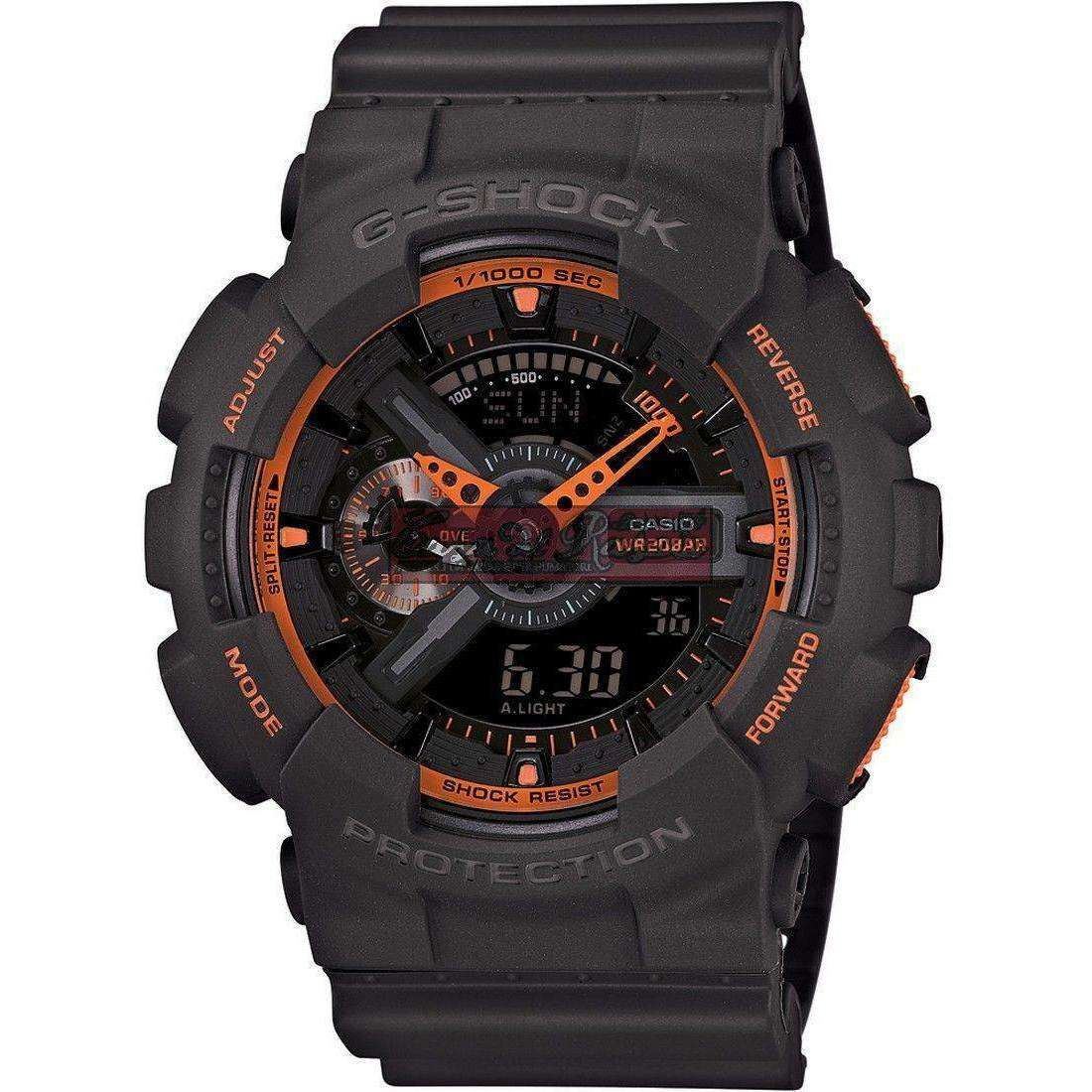 watch multifunction man Casio G-SHOCK GA-110TS-1A4ER
