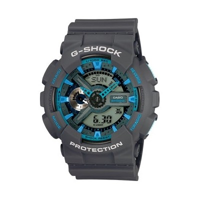 watch multifunction man Casio G-SHOCK GA-110TS-8A2ER