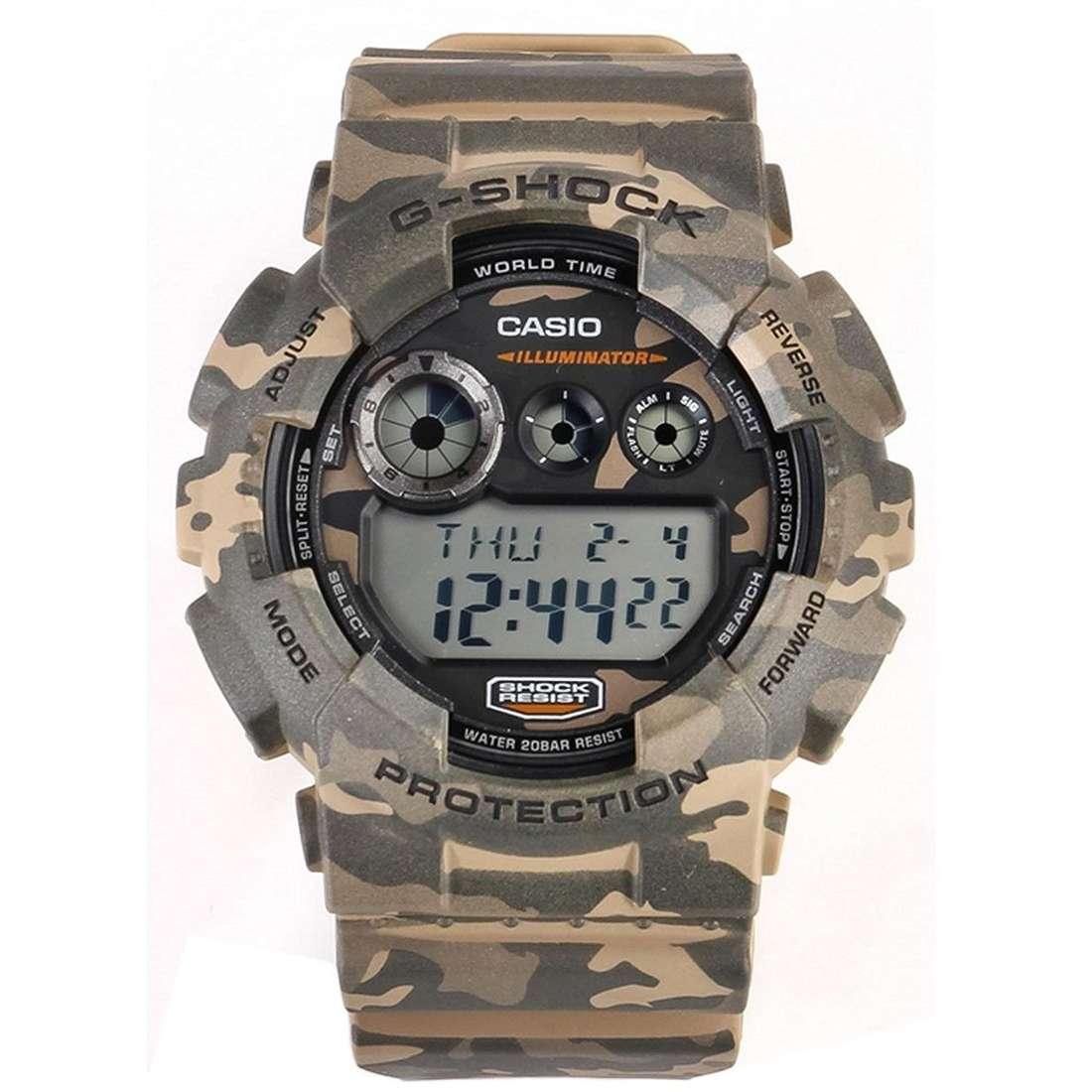 watch multifunction man Casio G-SHOCK GD-120CM-5ER