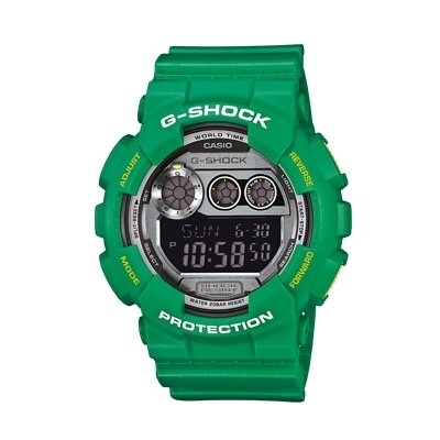 watch multifunction man Casio G-SHOCK GD-120TS-3ER