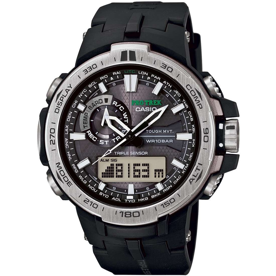 watch multifunction man Casio PRO-TREK PRW-6000-1ER