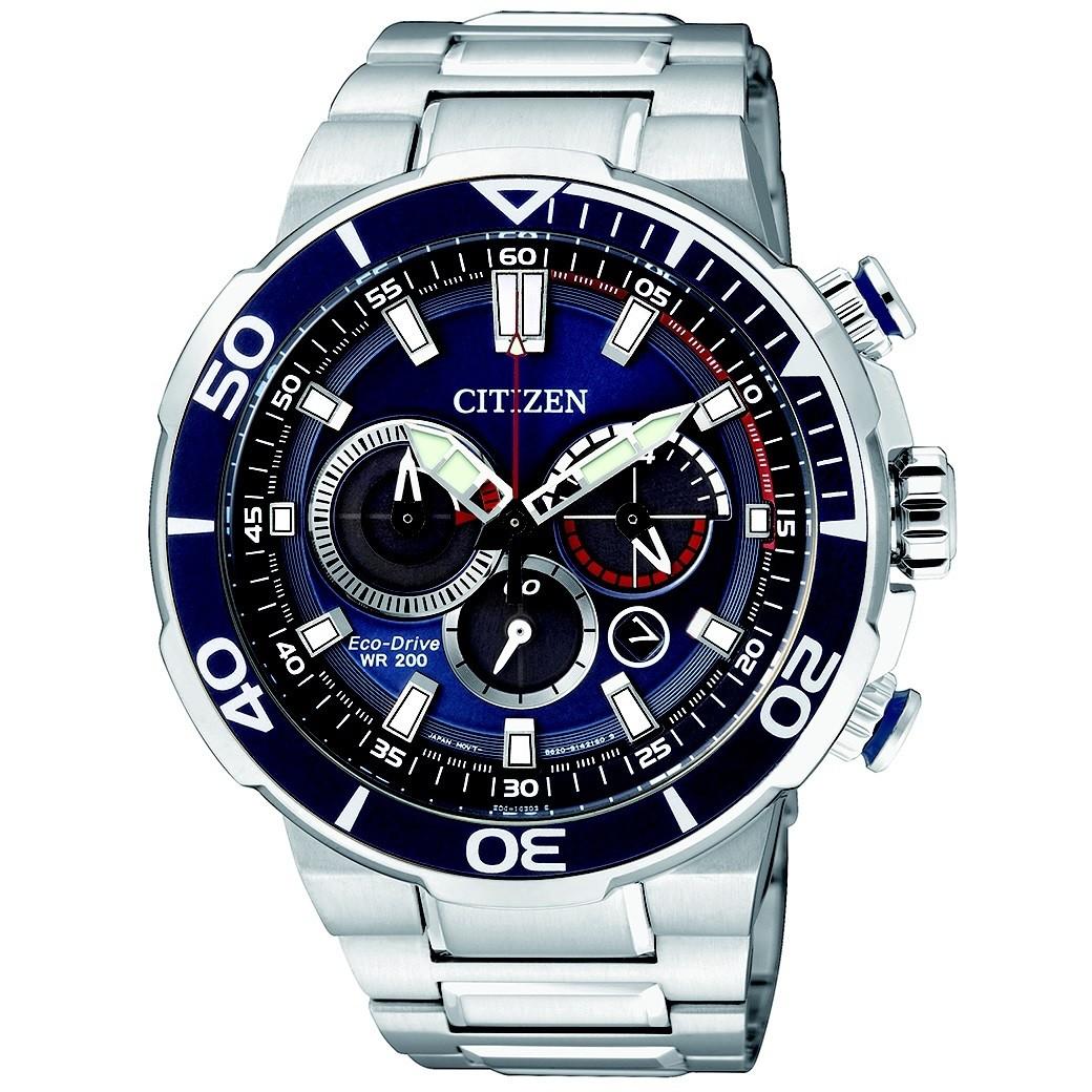 c911af2fd5a watch multifunction man Citizen Marine Sport CA4250-54L chronographs ...