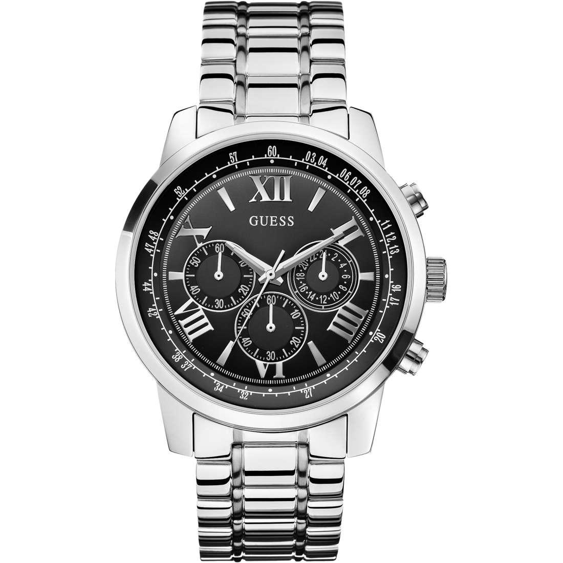 watch multifunction man Guess Horizon W0379G1