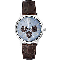 watch multifunction man Guess Ice Blue W0496G2