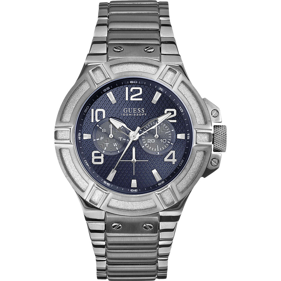 watch multifunction man Guess Settembre 2013 W0218G2