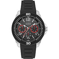watch multifunction man Guess Tread W0967G1