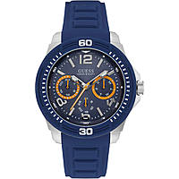 watch multifunction man Guess Tread W0967G2