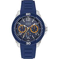 watch multifunction man Guess Tread W0967G2