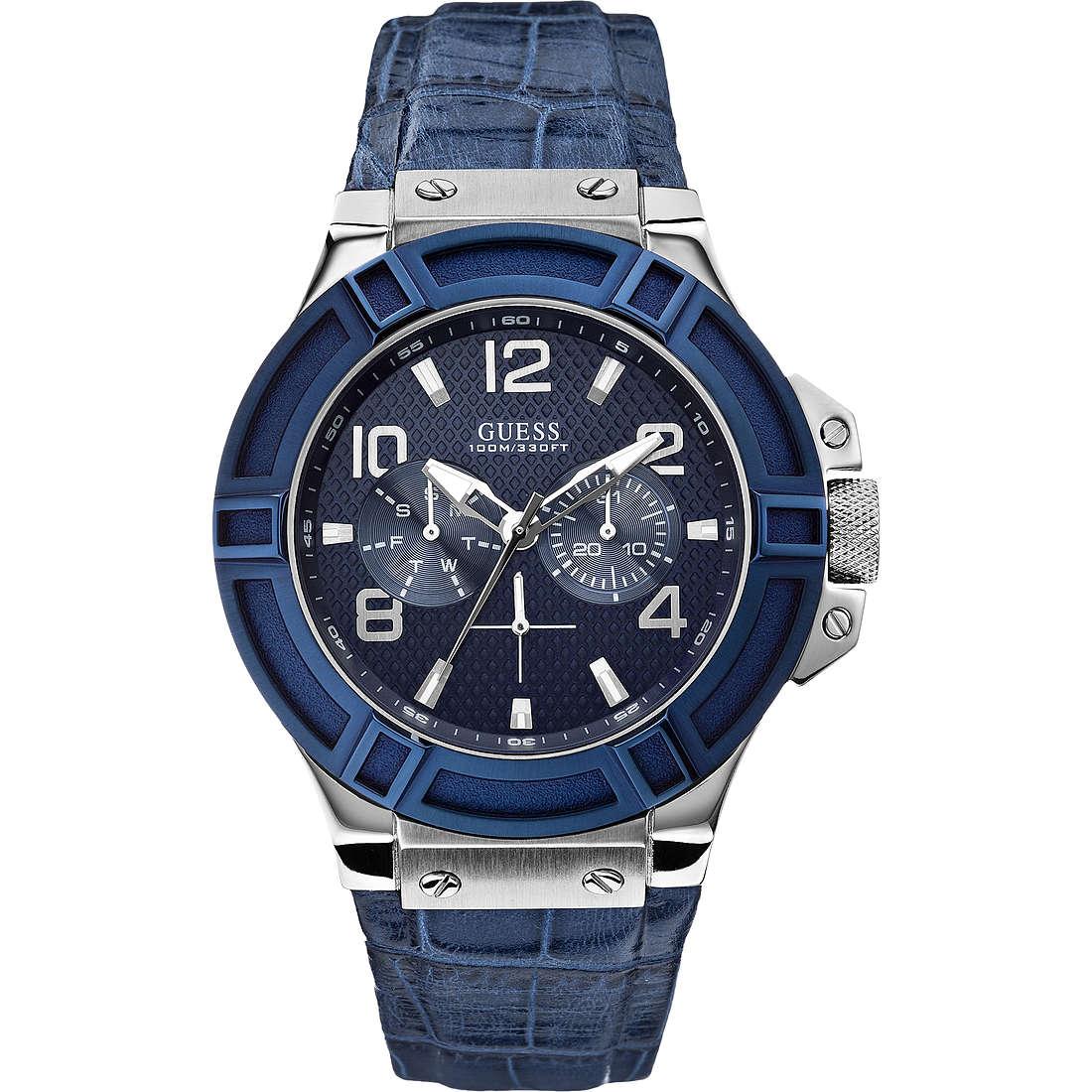 watch multifunction man Guess W0040G7
