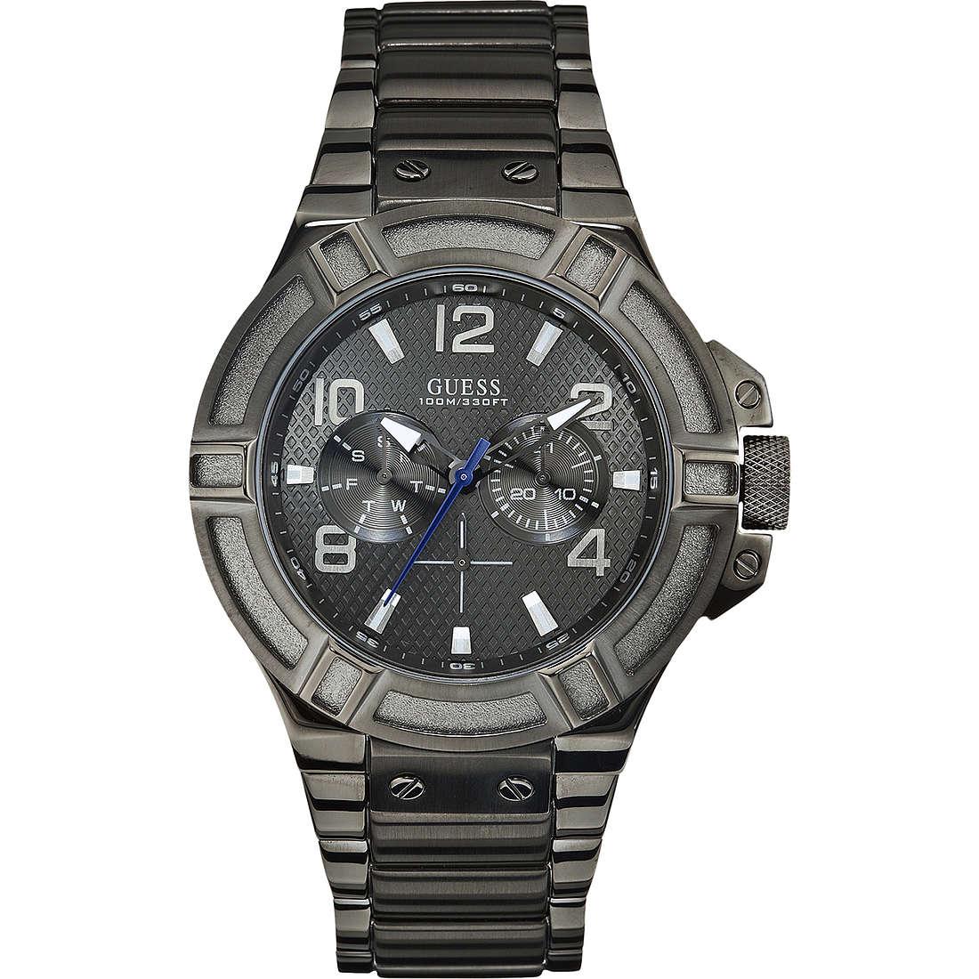 watch multifunction man Guess W0041G1