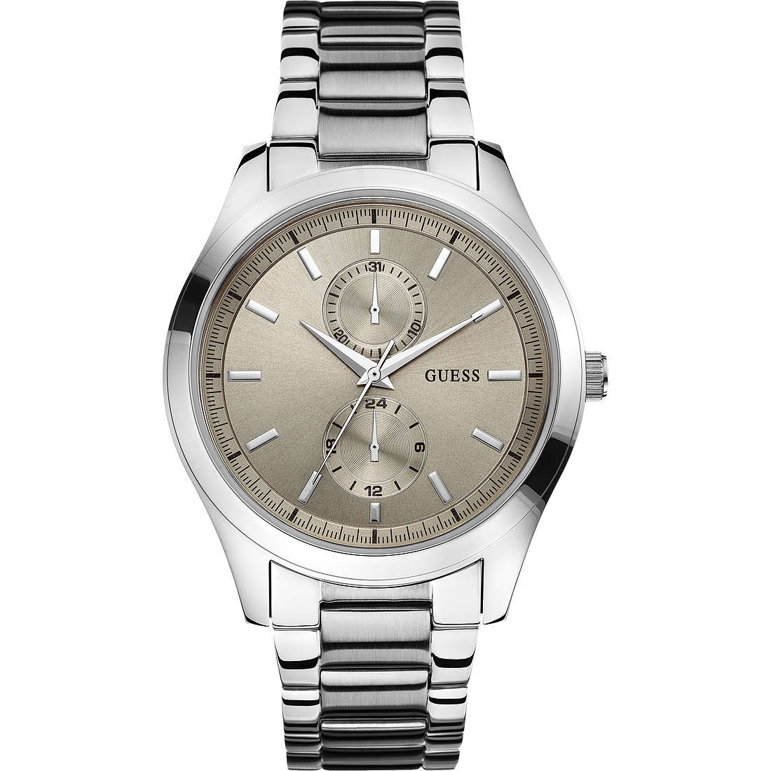 watch multifunction man Guess W0373G1
