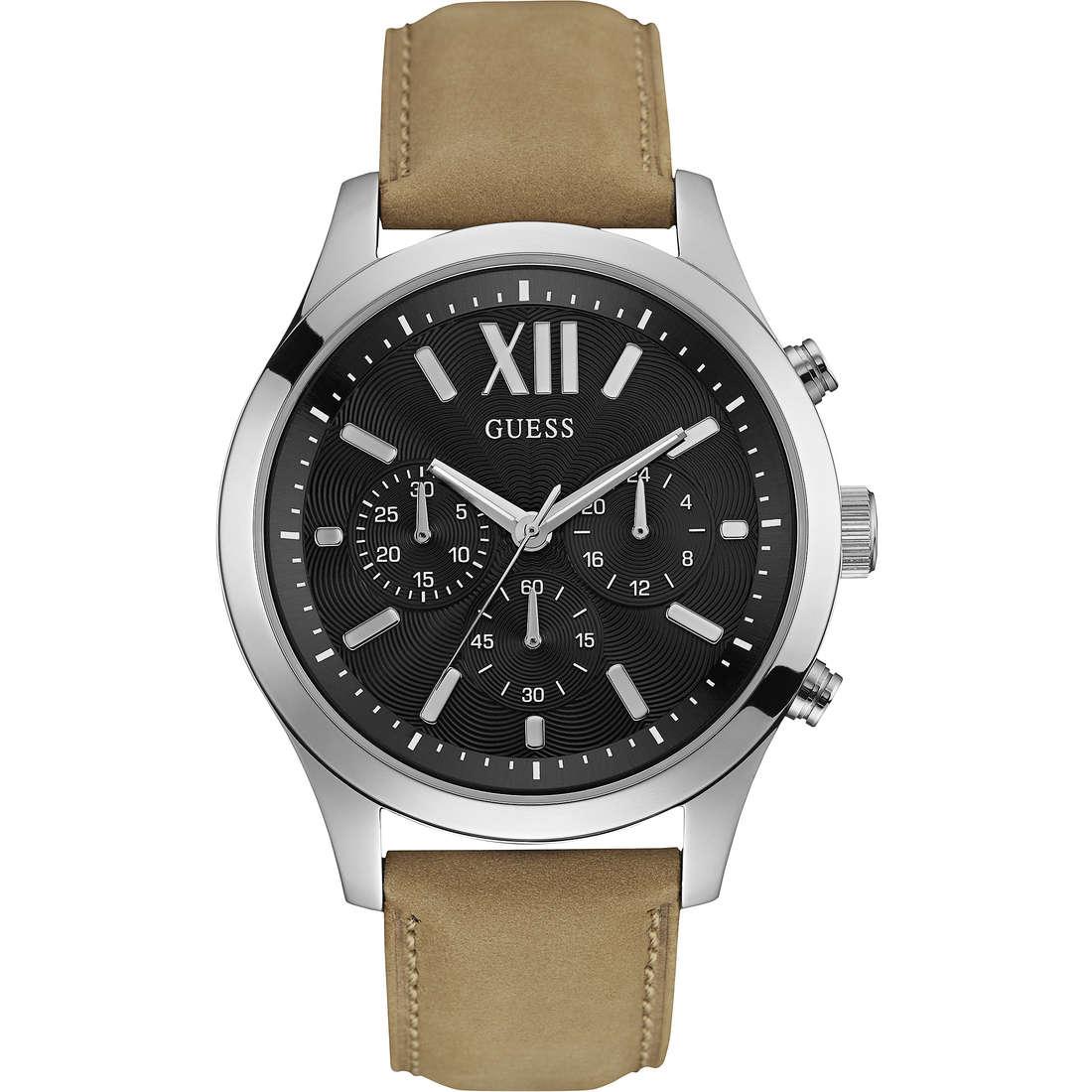 watch multifunction man Guess W0789G1