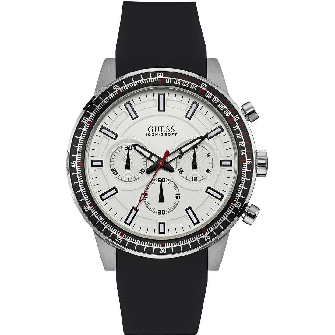 watch multifunction man Guess W0802G1