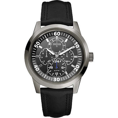 watch multifunction man Guess W10584G1