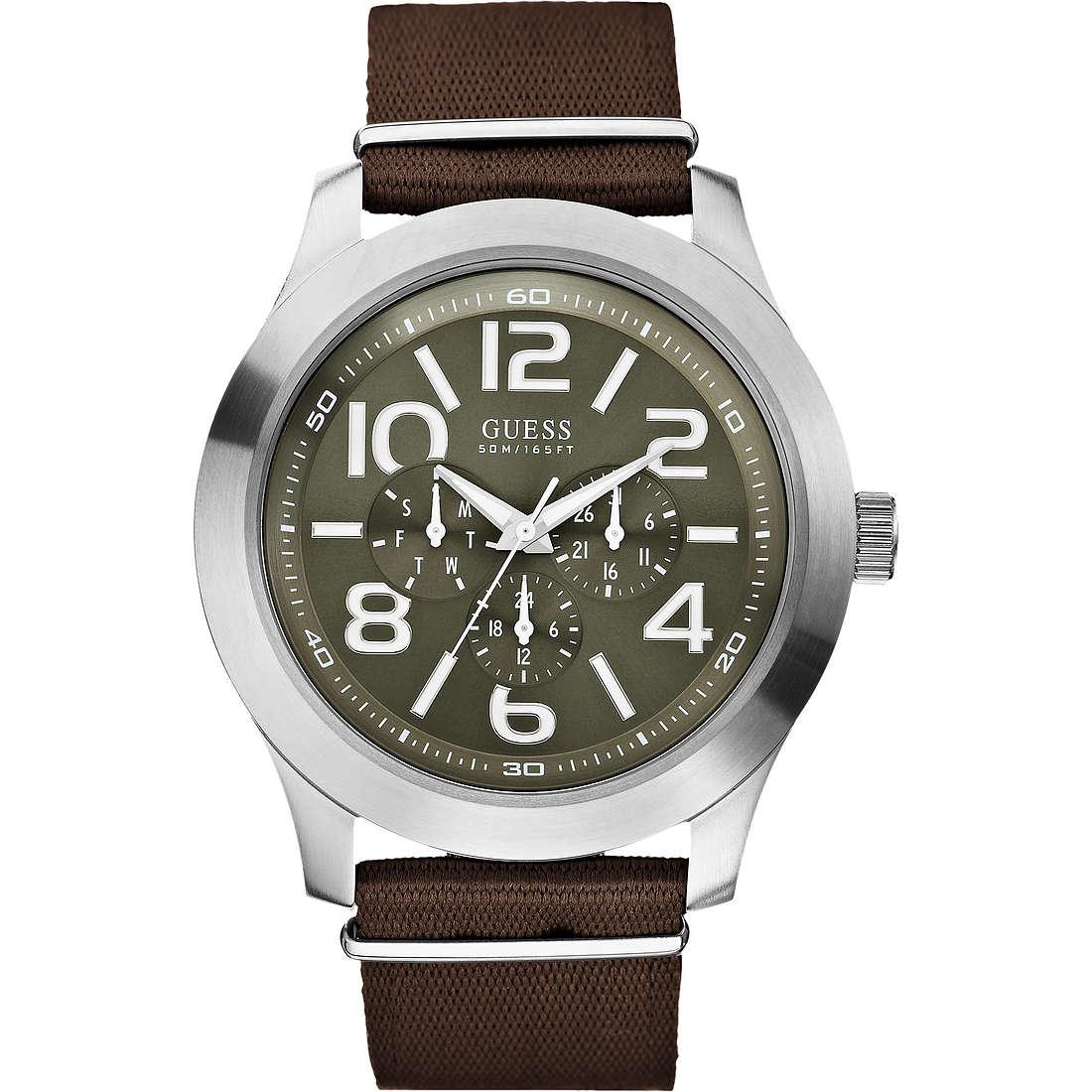 watch multifunction man Guess W10617G2