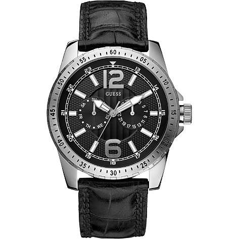 watch multifunction man Guess W11141G1