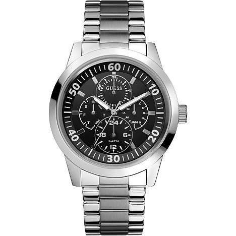 watch multifunction man Guess W11562G3