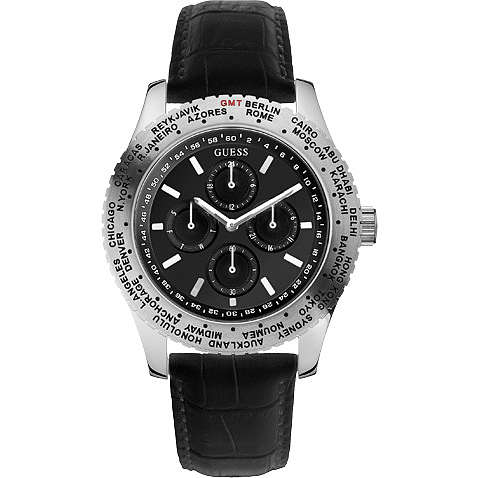 watch multifunction man Guess W12082G1