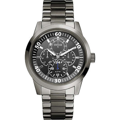 watch multifunction man Guess W12623G1