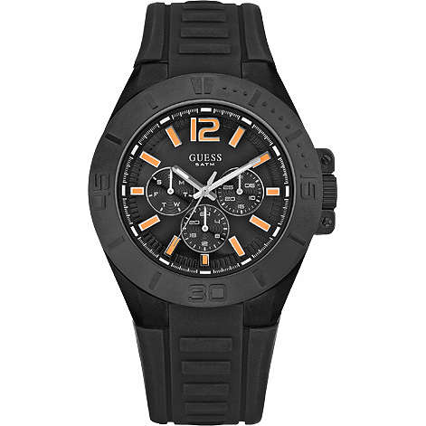 watch multifunction man Guess W14041G1