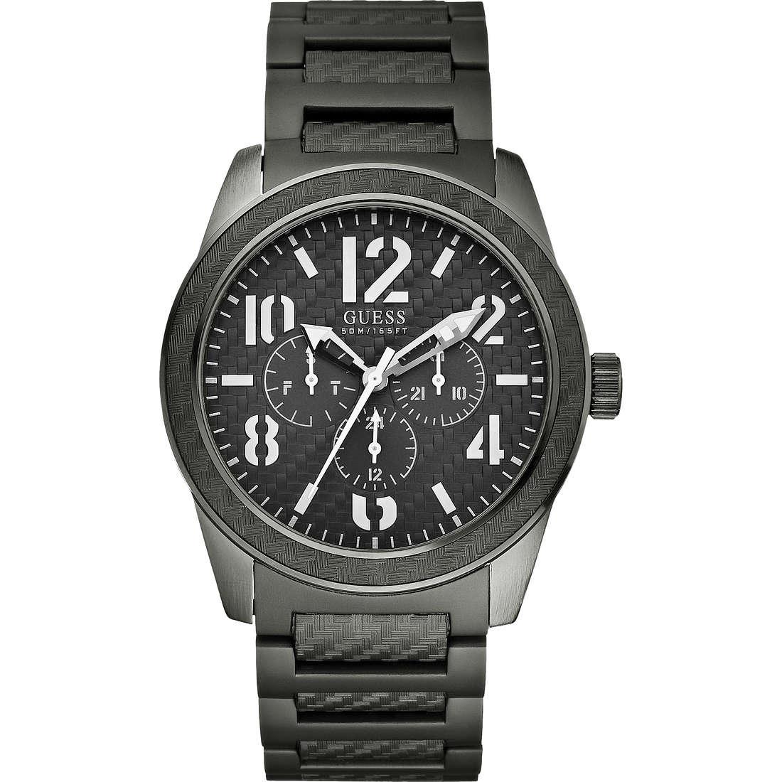 watch multifunction man Guess W15073G2