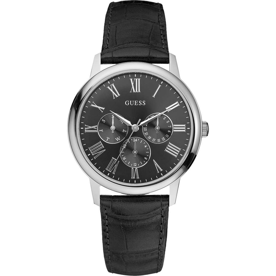 watch multifunction man Guess W70016G1