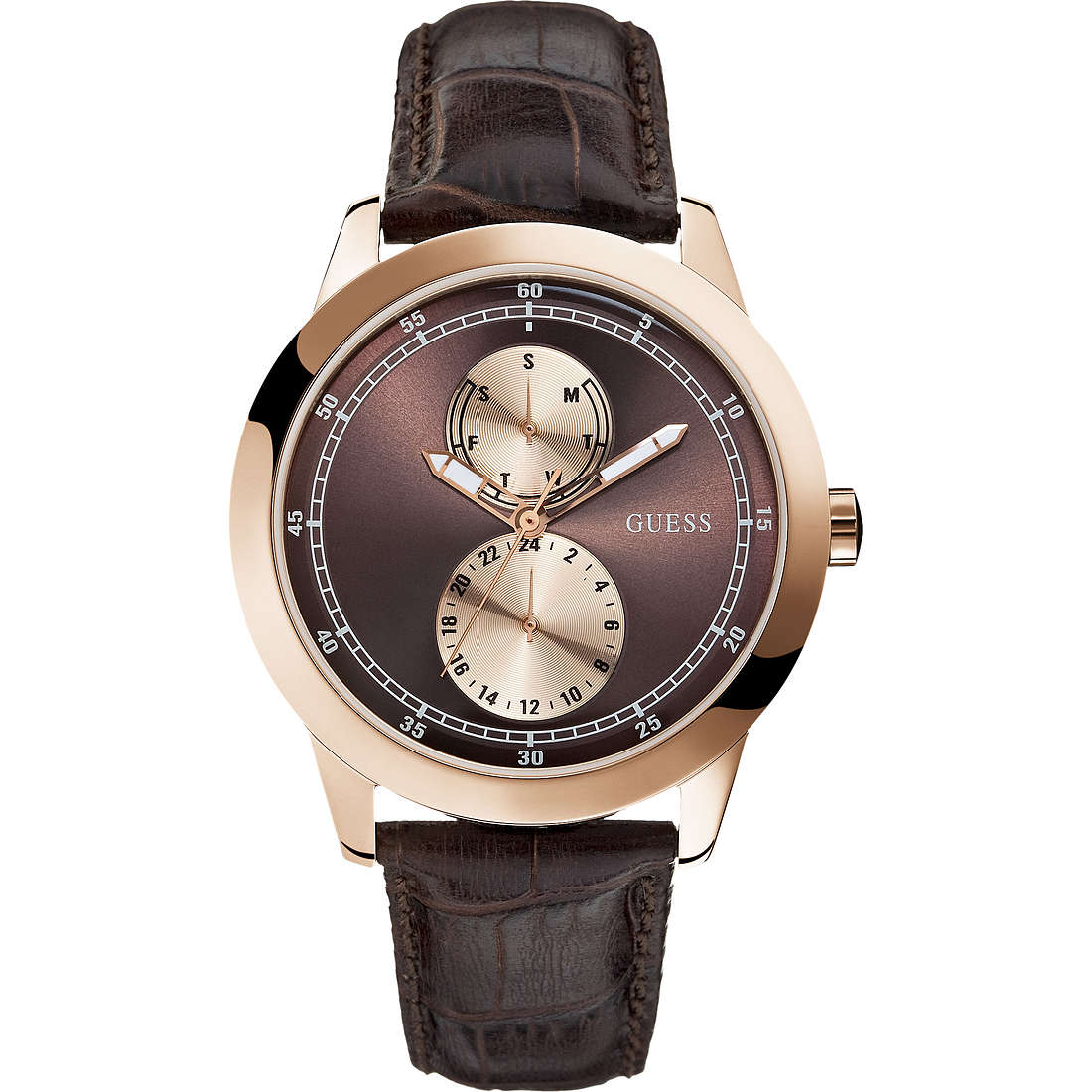 watch multifunction man Guess W85120G2