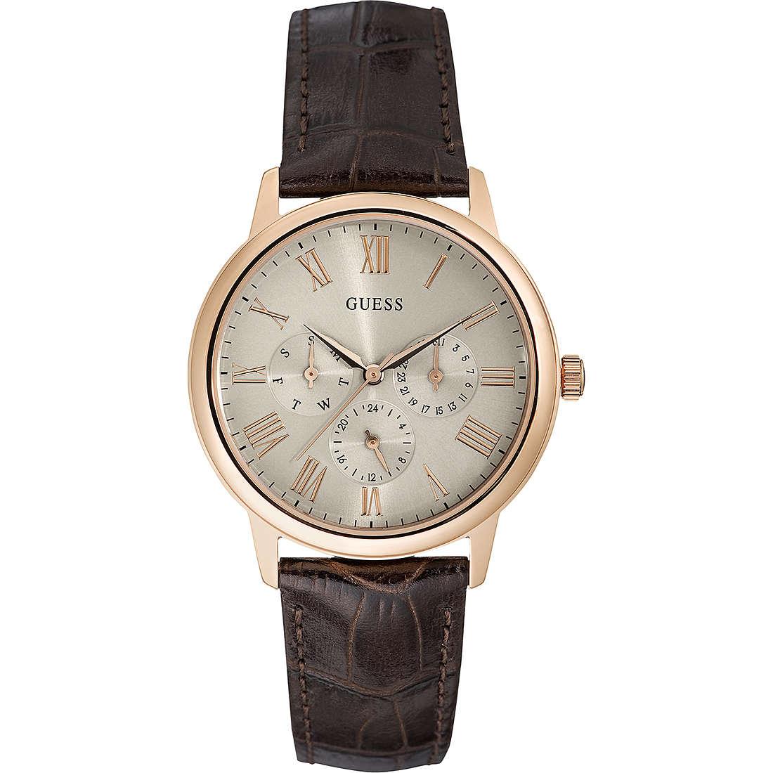 watch multifunction man Guess Wafer W0496G1