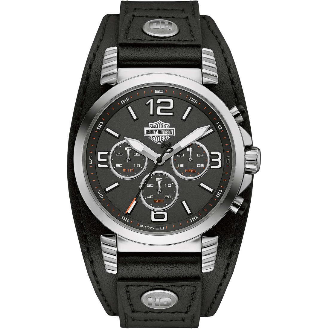 watch multifunction man Harley Davidson 76B173