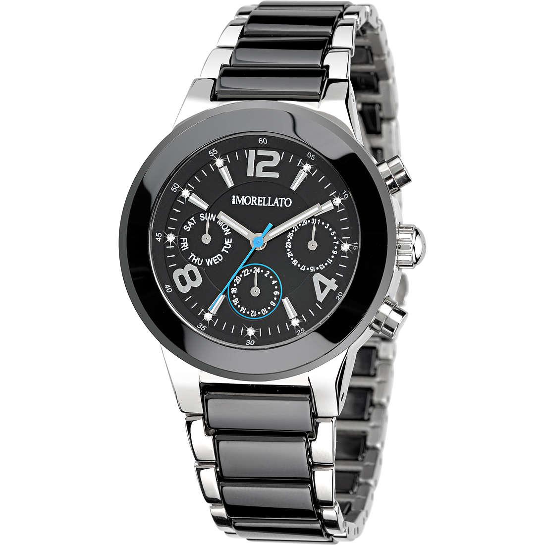 watch multifunction man Morellato Black & White R0153103508