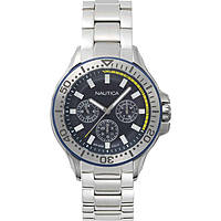 watch multifunction man Nautica Auckland NAPAUC003BR