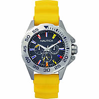 watch multifunction man Nautica Miami Flags Multi NAPMIA003