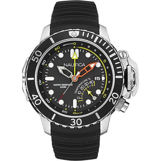 watch multifunction man Nautica Nmx Dive Style NAI47500G