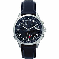 watch multifunction man Nautica Shanghai World Time NAPSHG001