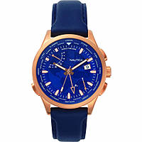 watch multifunction man Nautica Shanghai World Time NAPSHG002