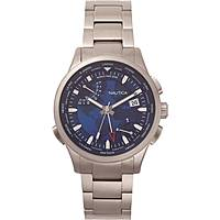 watch multifunction man Nautica Shanghai World Time NAPSHG003
