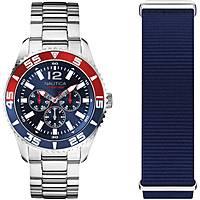 watch multifunction man Nautica White Cap NAPWHC002