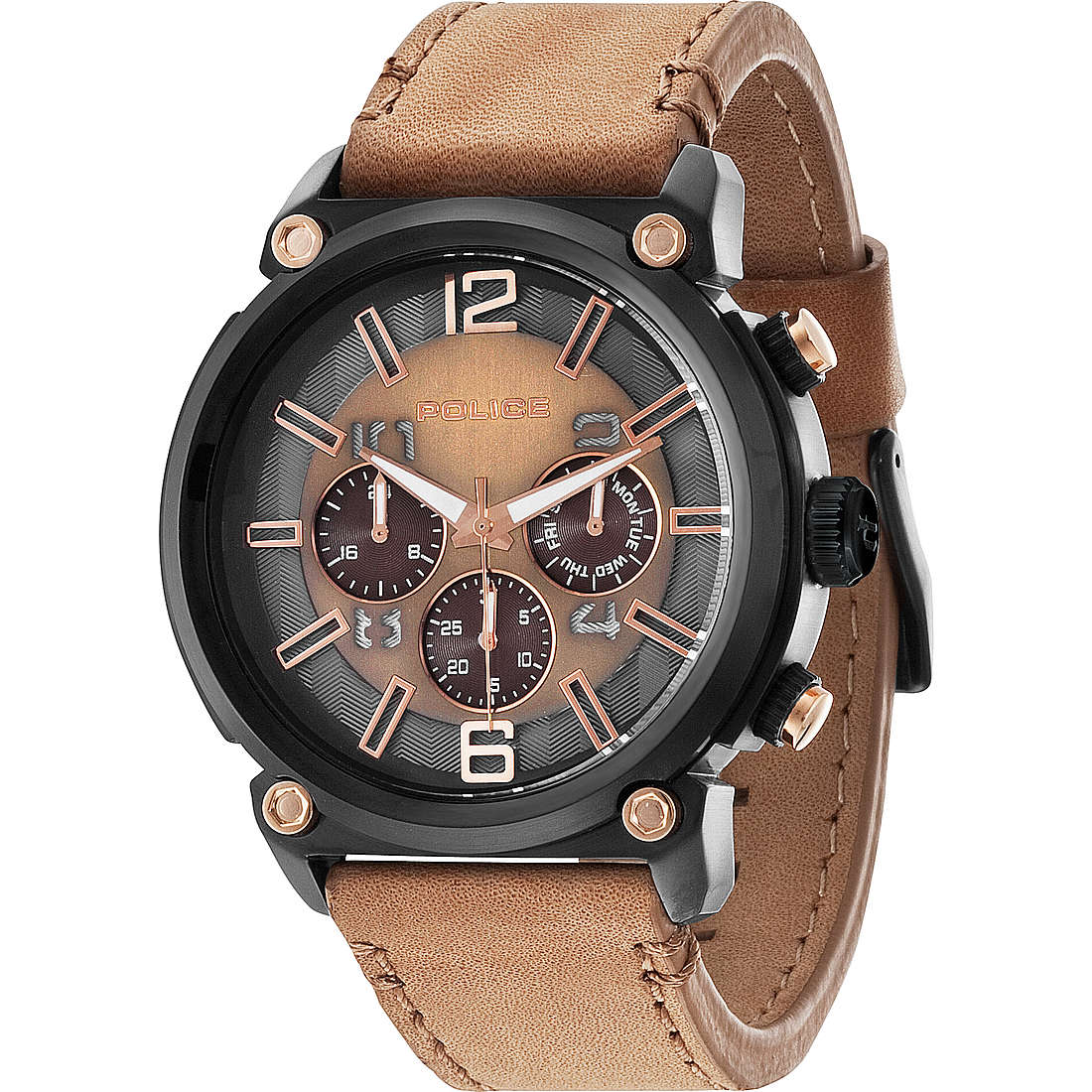 watch multifunction man Police Armor R1451238001