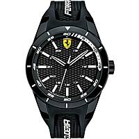 watch multifunction man Scuderia Ferrari Red FER0830249